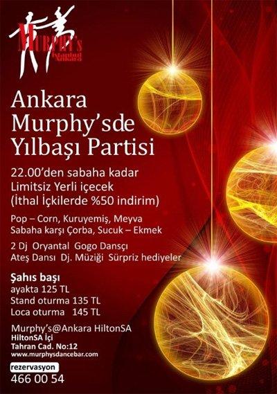 Murphy's 2012 Yılbaşı Programı