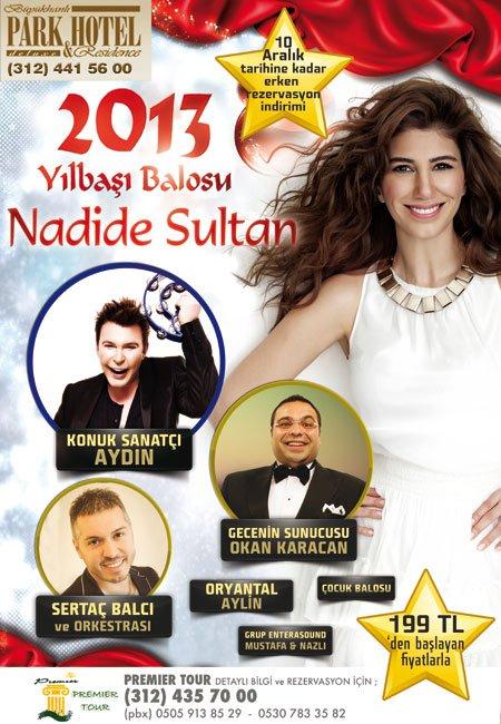 Büyükhanlı Park Otel 2013 Yılbaşı Programı