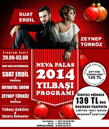 Neva Palas Otel 2014 Yılbaşı