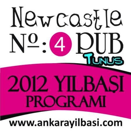 Newcastle Tunus Caddesi 2012 Yılbaşı Programı
