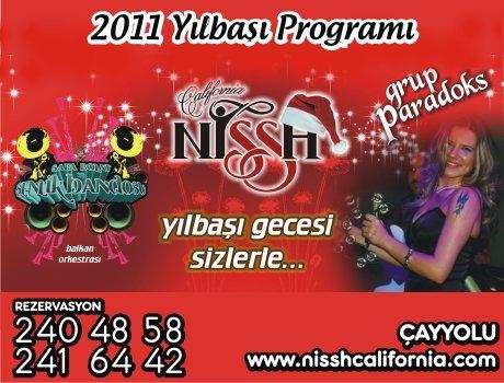 Nissh California 2011 Yılbaşı Programı