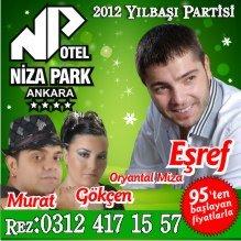 Niza Park Otel 2012 Yılbaşı Programı