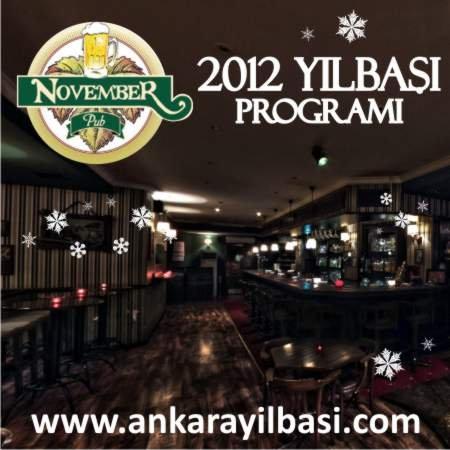 November Pub 2012 Yılbaşı Programı