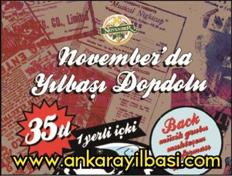 November Pub 2011 Yılbaşı Programı