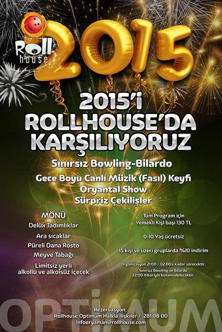 Optimum Rollhouse 2015 Yılbaşı