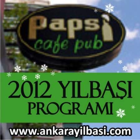 Papsi Cafe Pub 2012 Yılbaşı Programı