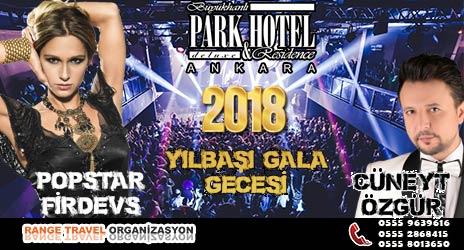 Park Otel Ankara Yılbaşı 2018