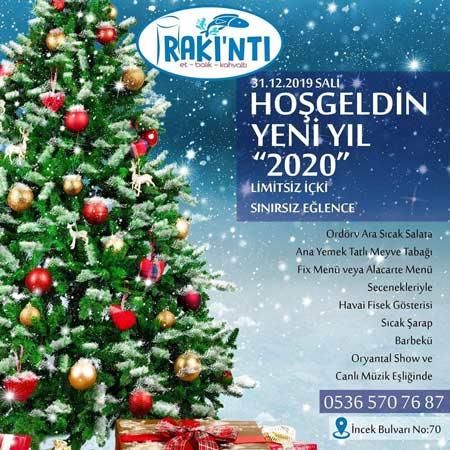 Rakıntı Balık Ankara Yılbaşı 2020