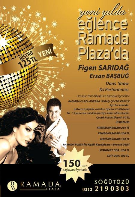 Ramada Plaza Ankara 2012 Yılbaşı Programı