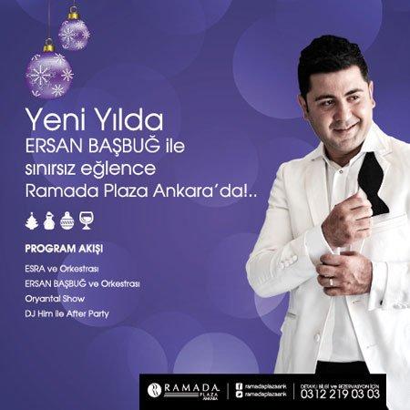 Ramada Plaza Ankara 2013 Yılbaşı Programı