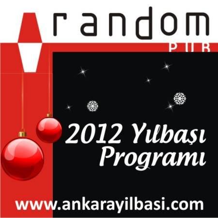 Random Pub Tunalı 2012 Yılbaşı Programı