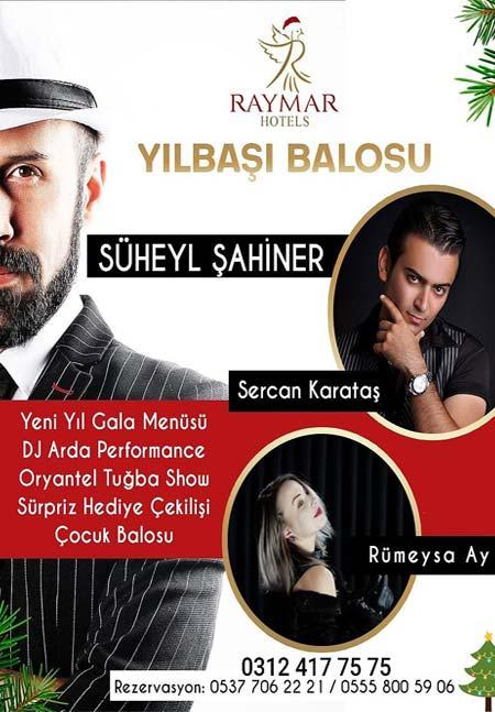 Raymar Hotel Ankara Yılbaşı 2020