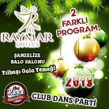 Raymar Hotel Ankara Yılbaşı 2018