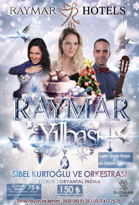 Raymar Hotel Ankara Yılbaşı 2017