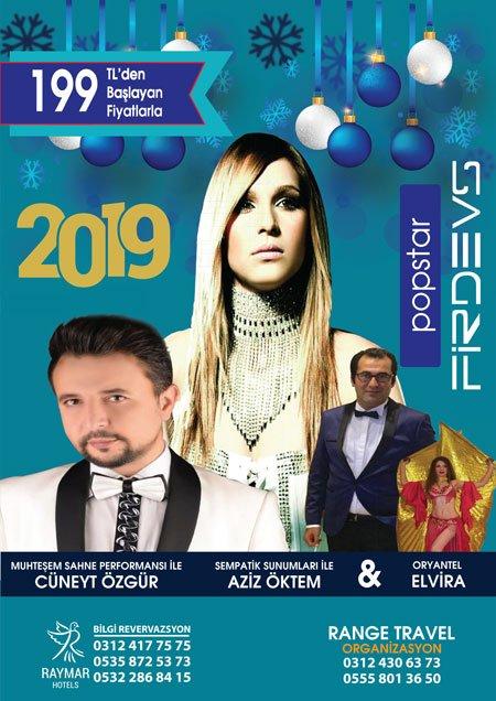Raymar Hotel Ankara Yılbaşı 2019
