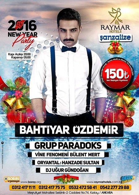 Raymar Hotel Yılbaşı Programı 2016