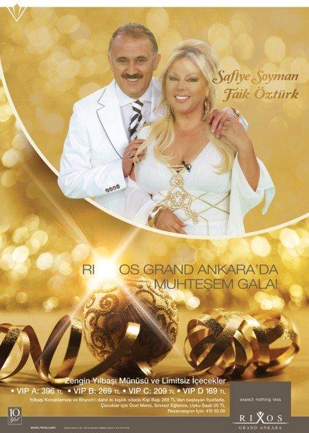 Rixos Grand Ankara 2012 Yılbaşı Programı