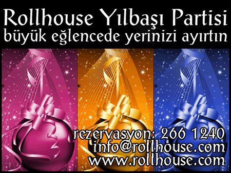 Rollhouse 2012 Yılbaşı Programı