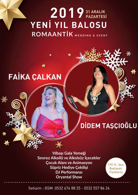 Romaantik Wedding Ankara Yılbaşı 2019