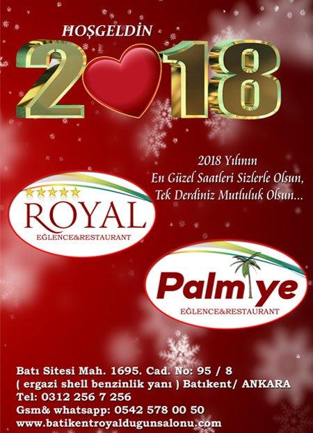 Batıkent Palmiye Restaurant Yılbaşı 2018