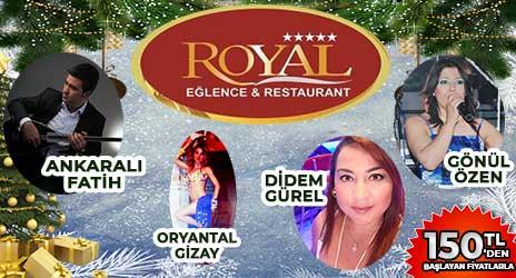 Royal Eğlence Restaurant Ankara 2020 Yılbaşı