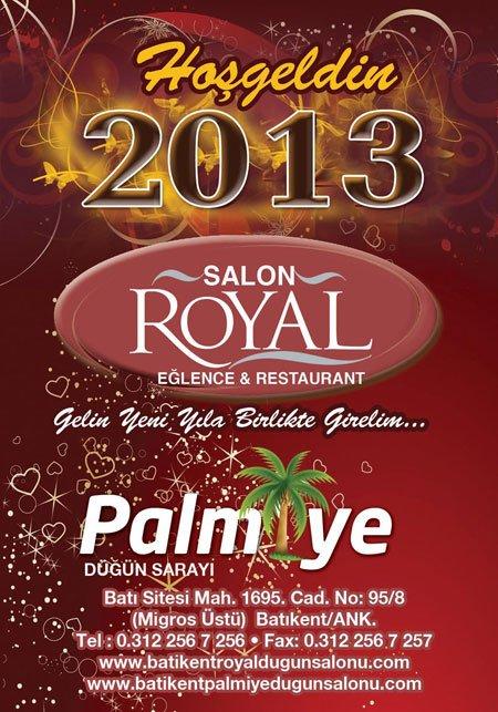 Royal Eğlence Merkezi 2013 Yılbaşı Programı
