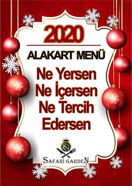 Safari Garden Restaurant Yılbaşı 2020
