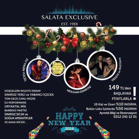 Salata Exclusive Yılbaşı Programı 2016