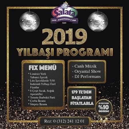 Salata Mesa Yılbaşı Programı 2019