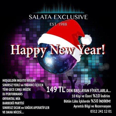 Salata Mesa Yılbaşı Programı 2016