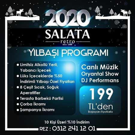 Salata Retro Yılbaşı Programı 2020