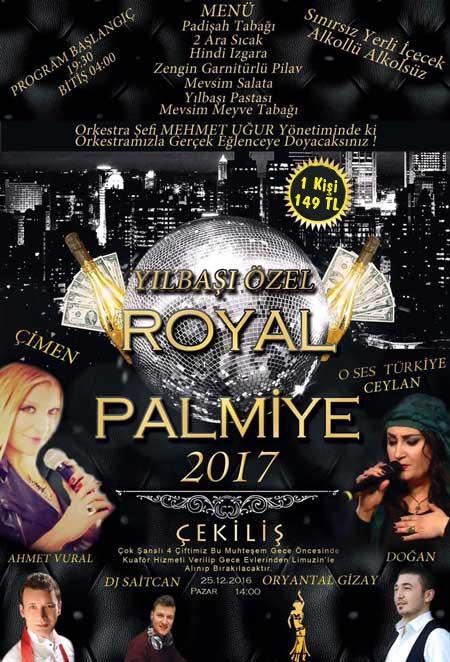 Batıkent Salon Palmiye Yılbaşı 2017
