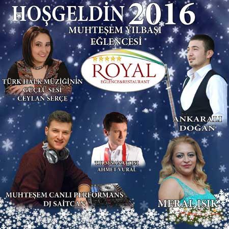 Salon Royal Yılbaşı Programı 2016