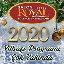 Salon Royal Ankara Yılbaşı 2020