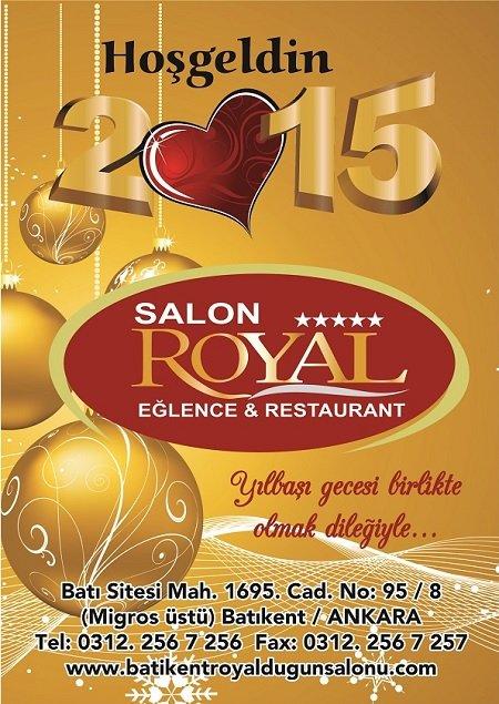 Royal Eğlence Merkezi 2015 Yılbaşı Programı