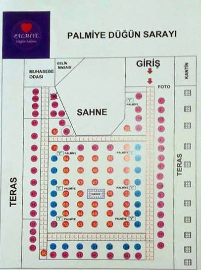 Salon Royal Batıkent Yılbaşı Plan