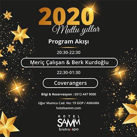 Hotel SAMM Yılbaşı Programı 2020
