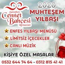 Sarayköy Cennet Bahçesi Yılbaşı 2020
