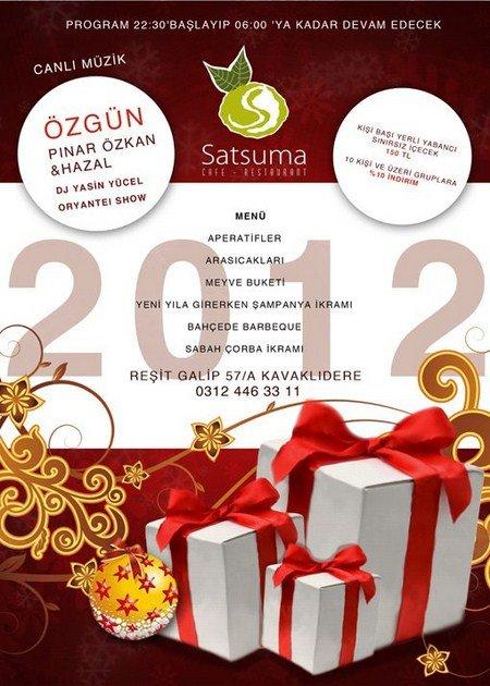 Satsuma 2012 Yılbaşı Programı