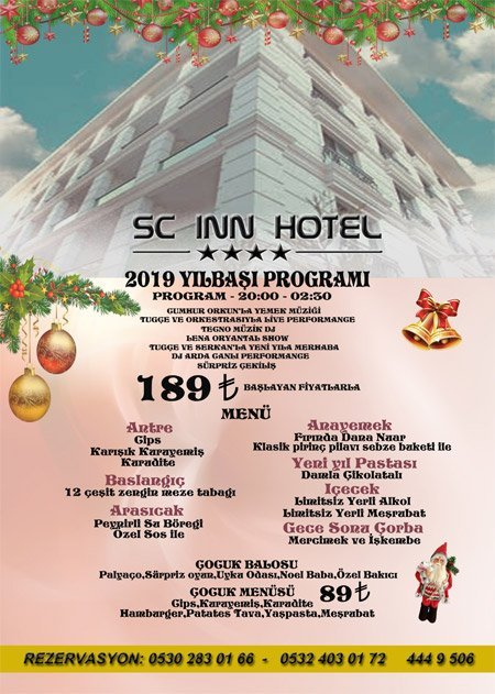 Sc Inn Ankara Yılbaşı 2019