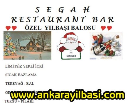 Segah Restaurant 2011 Yılbaşı Programı