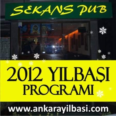 Sekans Pub 2012 Yılbaşı Programı