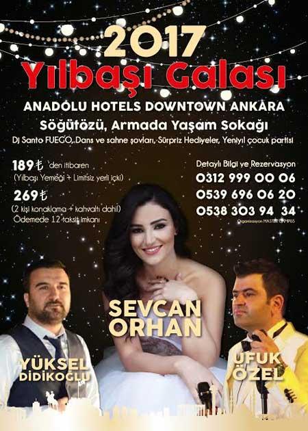 Anadolu Hotels Downtown Yılbaşı 2017
