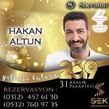 Sheraton Ankara Yılbaşı 2019