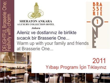 Sheraton Brasserie One 2011 Yılbaşı Programı