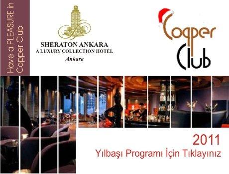 Sheraton Copper Club 2011 Yılbaşı Programı