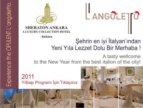 Sheraton Langoletto 2011 Yılbaşı Programı