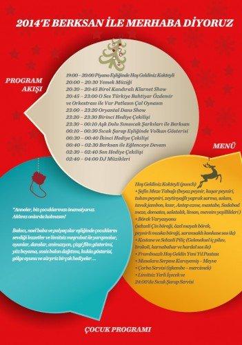 Dedeman Ankara 2014 Yılbaşı Programı