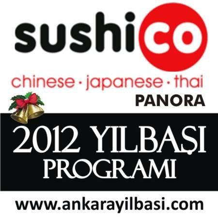 Sushico Panora 2012 Yılbaşı Programı