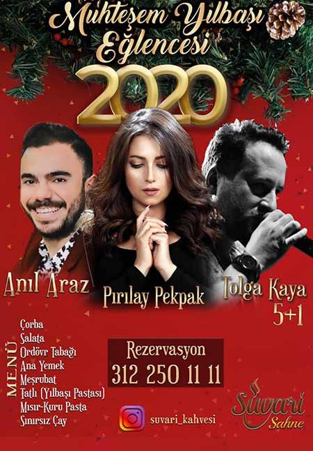 Süvari Kahvesi Ankara Yılbaşı 2020